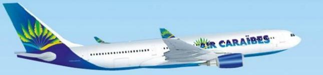 Le trafic d'Air Caraïbes devrait être perturbé entre le 15 et le 20 avril 2016 - Photo : Air Caraïbes