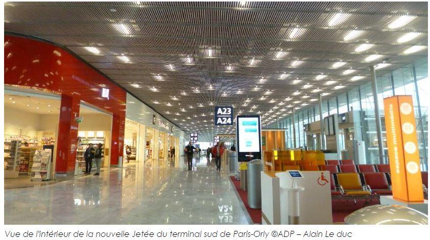 Paris-Orly ouvre la nouvelle salle d'embarquement de la Jetée - Photo : ADP - Alain Le Duc