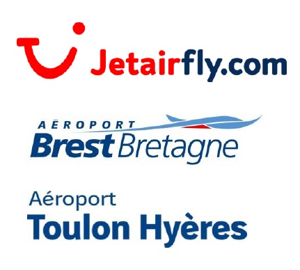 jetairfly la ligne brest toulon f te ses 10 ans. Black Bedroom Furniture Sets. Home Design Ideas