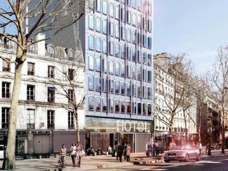 The new hotel Paris Renaissance will open next April 18th in the République neighborhood. DR-Marriott.