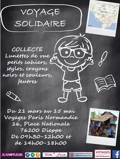 Eductour solidaire au Cambodge : VPN récolte des lunettes usagées et des fournitures scolaires