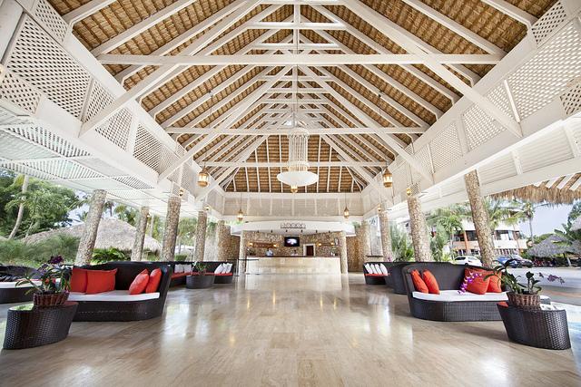 Lobby au Viva Wyndham Dominicus Beach