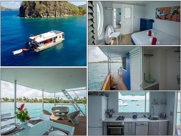 Les Aqualodges situés en Guadeloupe - Dr