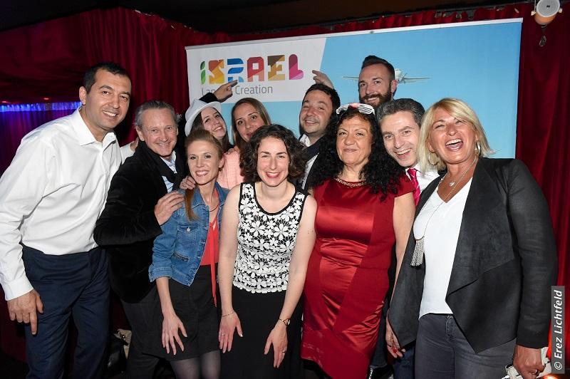 La soirée Israël s'est déroulée à Paris le 14 avril dernier Chez Papillon - Photo Erez Lichtfeld