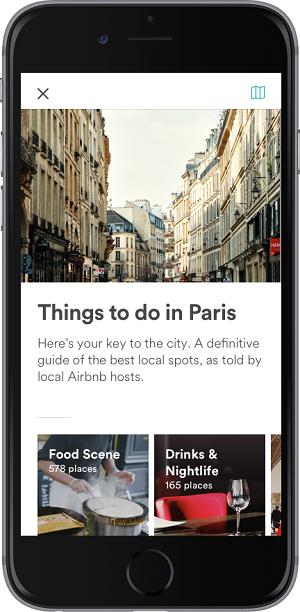 L'application propose désormais des activités à partager avec des locaux (c) Airbnb
