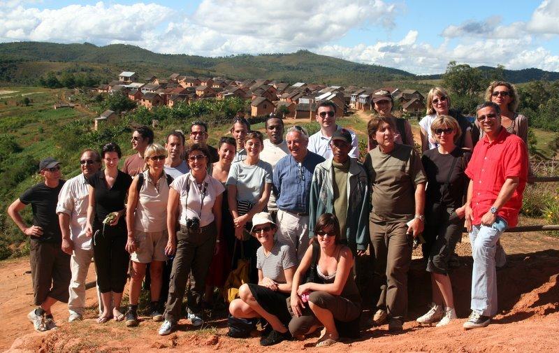 Un Groupe très motivé par la problématique tourisme durable et responsable et manifestement conquis par la destination - Cliquer pour agrandir