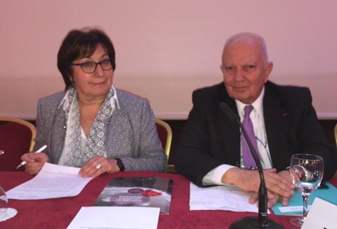 Martine Pinville, secrétaire d'État en charge du Commerce, de l'Artisanat, de la Consommation et de l'Économie Sociale et Solidaire, va prendre la parole en clôture de l'Assemblée générale de l'APST - Photo : J.D.L.