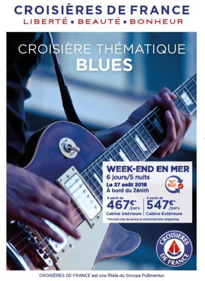 Croisières de France a le blues