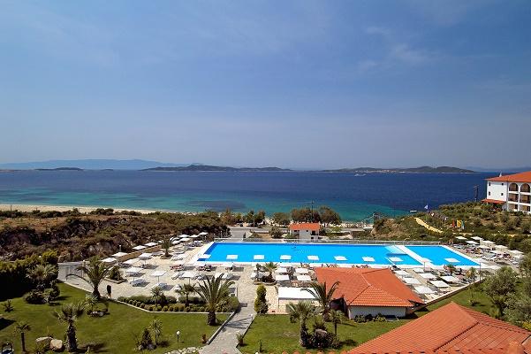 Le Club Lookéa Akrathos Beach est le premier club francophone dans la région de Thessalonique - Photo : Look Voyages
