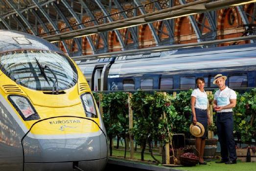 Plus de 120 000 passagers ont utilisé la ligne Marseille-Avignon-Lyon-Londres depuis son lancement le 1er mai 2015 - Photo : Eurostar