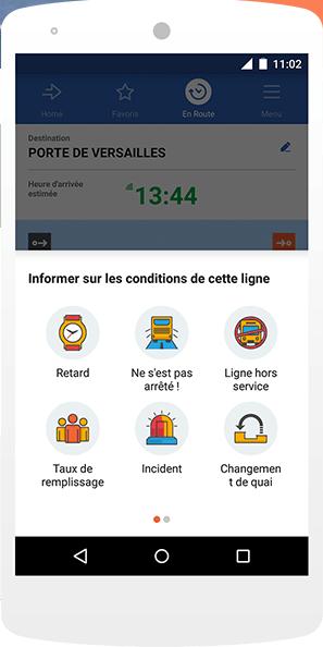 L'application Moovit permet à ses utilisateurs de planifier leurs trajets en utilisant différents modes de transports publics - DR : Moovit