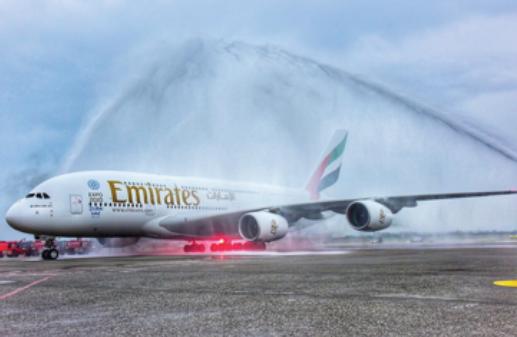 Prague et Taipei sont désormais desservies en A380 par Emirates - Photo : Emirates