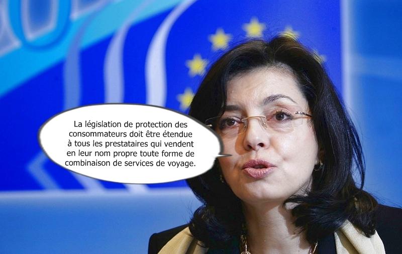 Meglena Kuneva, Commissaire européenne en charge de la protection des consommateurs
