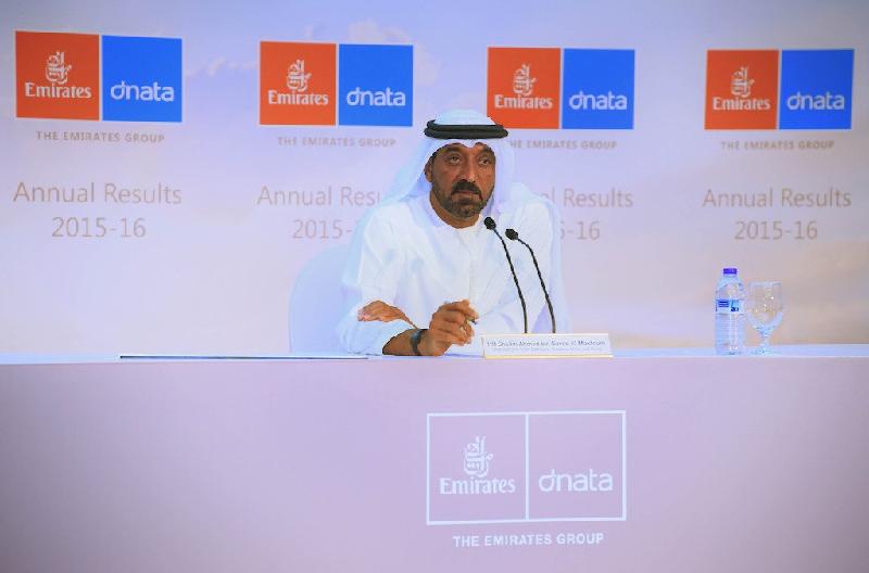 Son Altesse le Cheikh Ahmed bin Saeed Al Maktoum, Président-Directeur général d'Emirates Airline et du Groupe - Photo DR