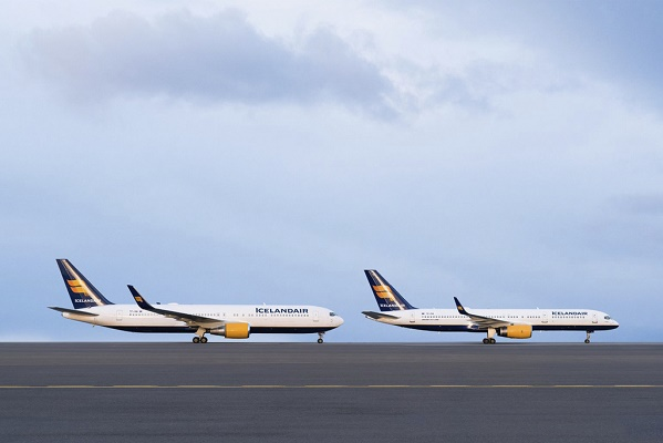 Icelandair dispose de deux B767 pour voler vers les USA et plusieurs capitales européennes - Photo : Icelandair