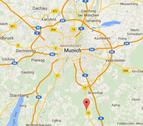 L'agression s'est déroulée vers 5 heures du matin à la gare de Grafing dans l'Est de Munich - DR : Google Maps
