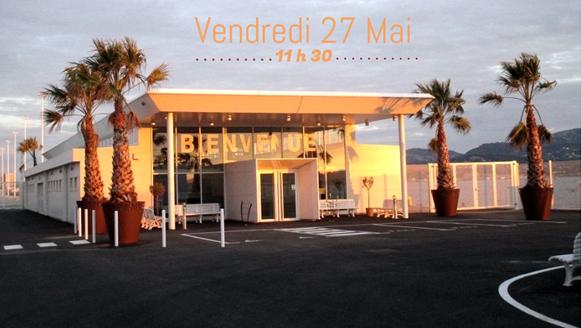 L'inauguration du nouveau terminal croisière du Port de Toulon est prévu le 27 mai 2016 à la Seyne-sur-Mer - Photo : CCI du Var
