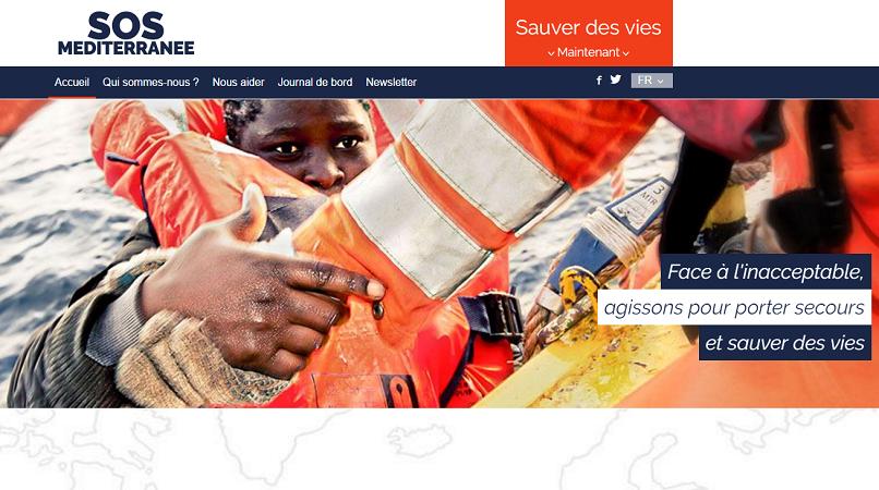 SOS Méditerranée affrète un bateau pour venir en aide aux migrants en détresse sur la Méditerranée - Capture d'écran