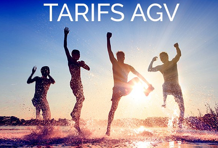 Voyamar-Aérosun propose désormais des tarifs pour les AGV - DR : Voyamar-Aérosun