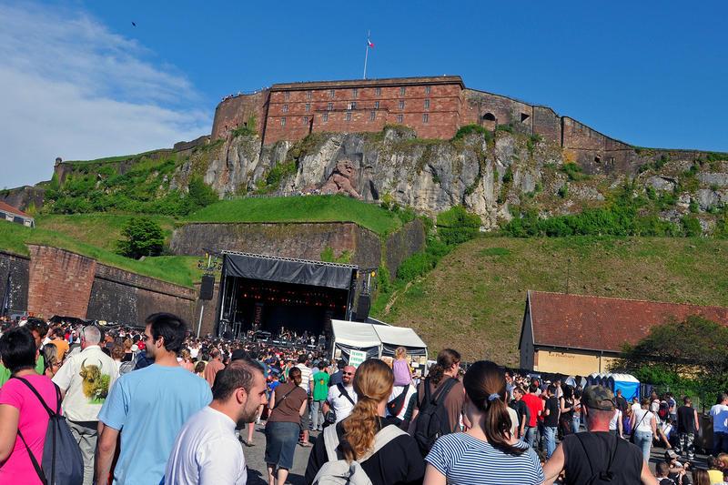 le festival FIMU dans la vieille ville de Belfort