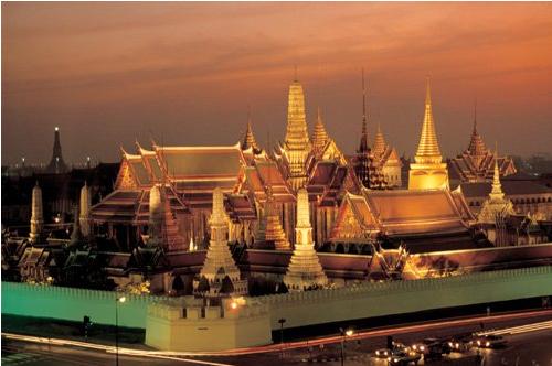 Les 9 agents de voyages ont voyagé entre Singapour et la Thaïlande avec Climats du Monde - Photo : Climats du Monde
