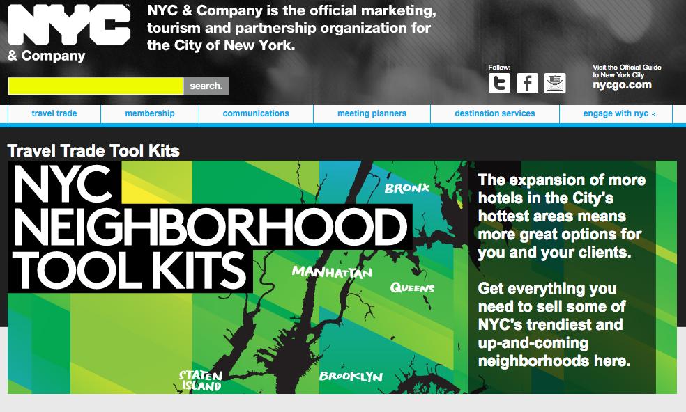La ville de New York met à disposition de nombreux outils pour aider à la vente. DR - NYC
