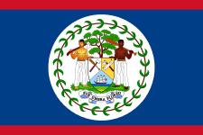 Drapeau du Belize - DR : Wikipedia