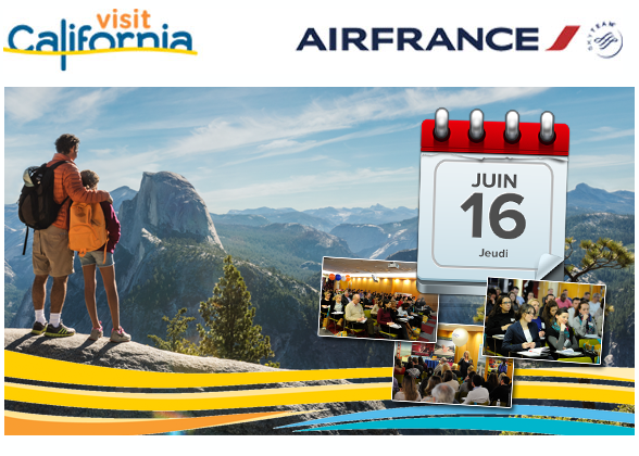 Visit California fête les 5 ans de Air France Training Day