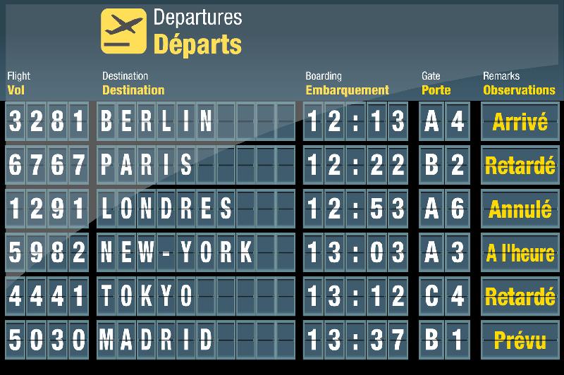 La DGAC a demandé aux compagnies de réduire de 15% le programme de vols à OrlyAuteur : pict rider Fotolia