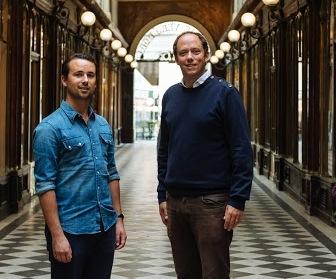 Les fondateurs Romain Viennois et Johan Anssens de France Hostels