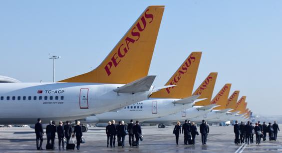 Pegasus Airlines annonce une hausse de son CA de 19% au 1er trimestre