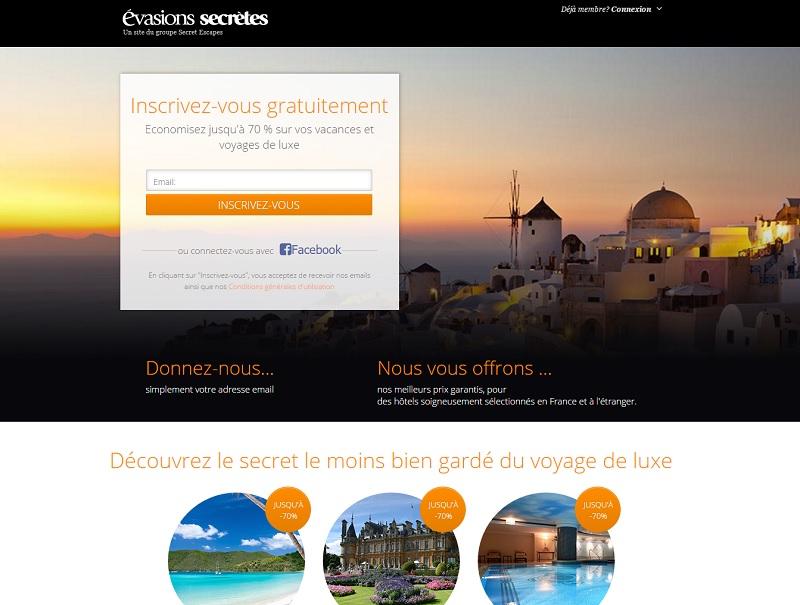 Hôtellerie de luxe : Évasions Secrètes lance ses ventes privées en France