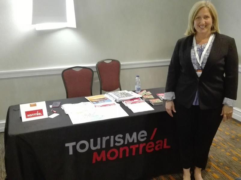 Isabelle Cyr représente Tourisme Montréal dans le cadre du workshop des 7e Forces de Ventes Affaires de Sélectour Afat - Photo : P.C.