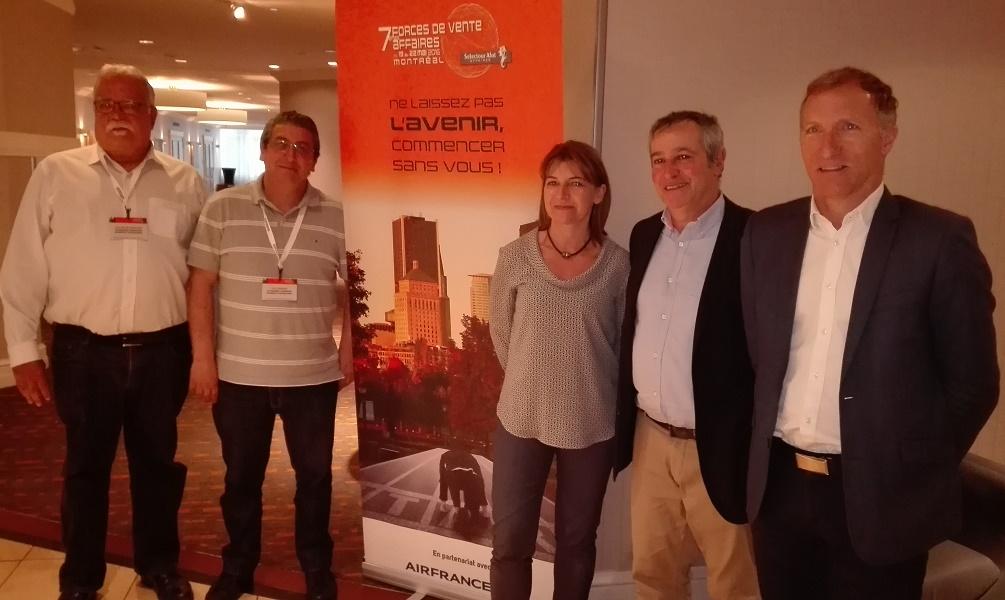 Les responsables de Selectour Afat souhaitent mieux valoriser le voyage d'affaires au sein du réseau - Photo : P.C.