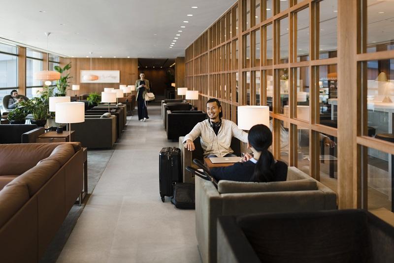 Cathay Pacific ouvre un nouveau salon à Hong Kong qui occupe un espace de 3 306 m² – soit environ 1000 mètres carrés de plus que le salon précédent - Photo DR Cathay Pacific