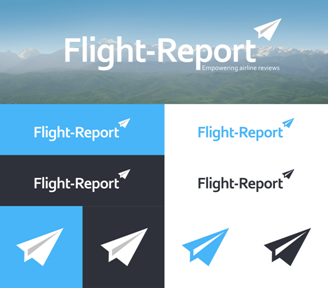 Le nouveau logo du site de Flight Report -DR Flight Report