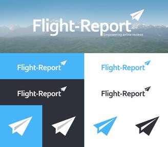 Le nouveau logo du site de Flight Report -DR Flight Report