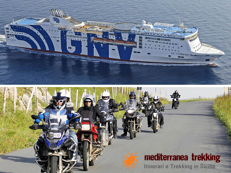 Les Motards du Tourisme ont effectué un roadtrip de près de 1600 kilomètres à travers la Sicile - DR : G.S.
