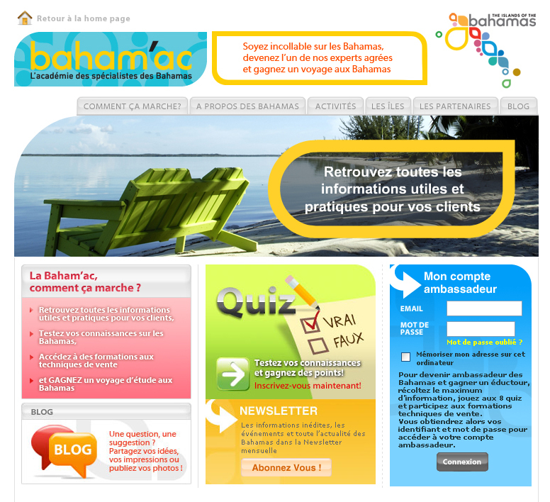 L'OT des Bahamas lance son e-learning