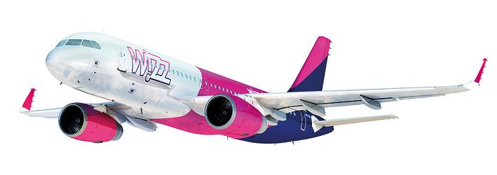 Wizz Air volera entre Vilnius et Nice en A320 - Photo : Wizz Air