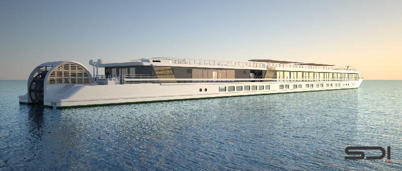 Croisieurope un nouveau bateau roue aubes venise - Bateau sur roues ...