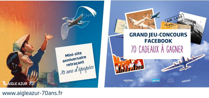 Aigle Azur multiplie les opérations pour son 70ème anniversaire