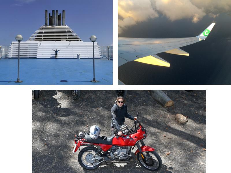 GNV, Transavia, Mediterranea Trekking (photo Igor). DR : G.S