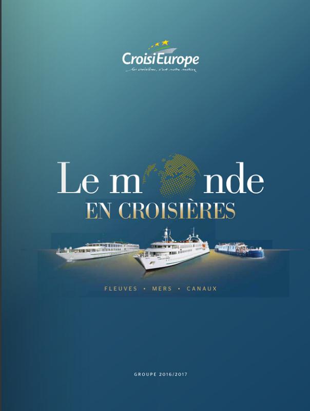 La nouvelle brochure Groupes de CroisiEurope - Photo CroisiEurope