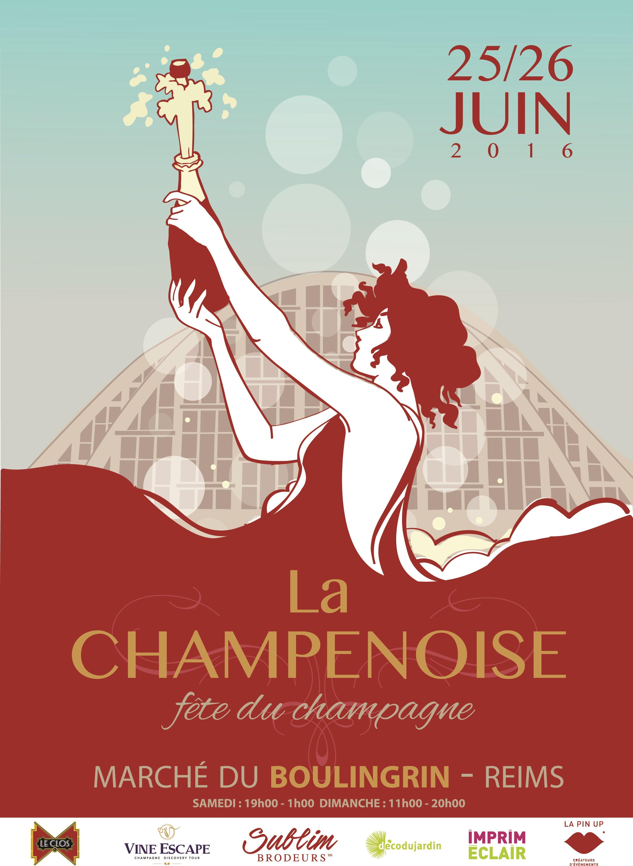 La Champenoise Poster