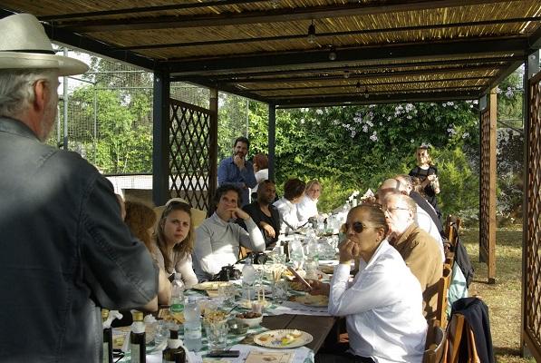 Les journalistes ont pu goûter aux spécialités gastronomiques des Pouilles - Photo : Héliades