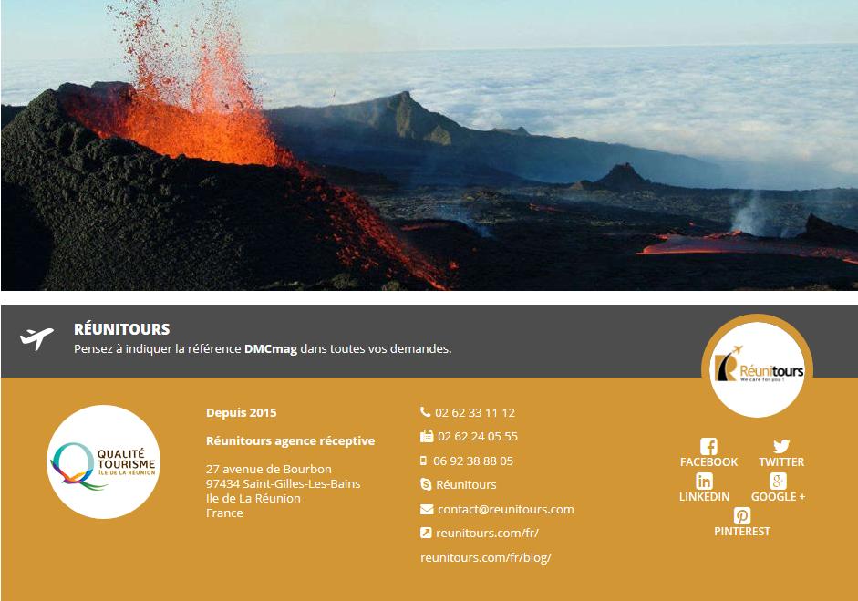 Réunitours, spécialiste de l'Île de la Réunion