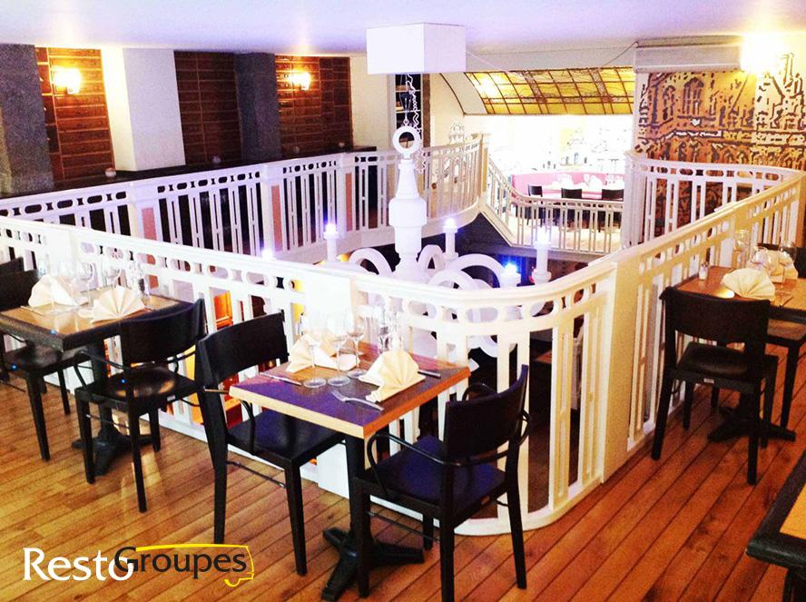 Restaurant La Boule Rouge à Bruxelles - DR