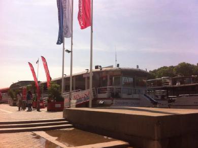 Le trajet des bateaux de Vedettes de Paris est modifié en raison du niveau encore élevé de la Seine - Photo : Vedettes de Paris