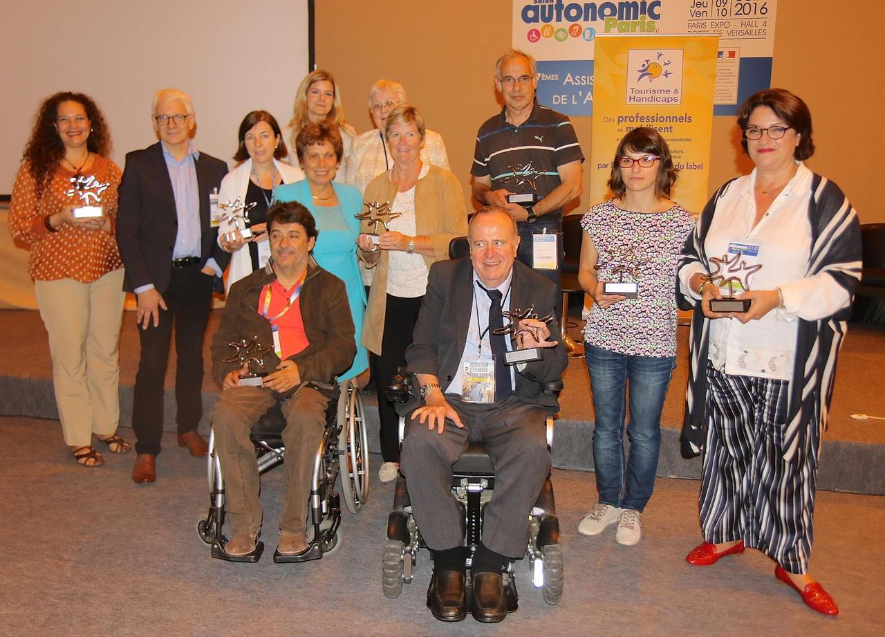 Les lauréats des Trophées des sites touristiques labellisés - Photo Tourisme et handicap